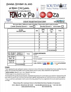 UNdapalooza registration form